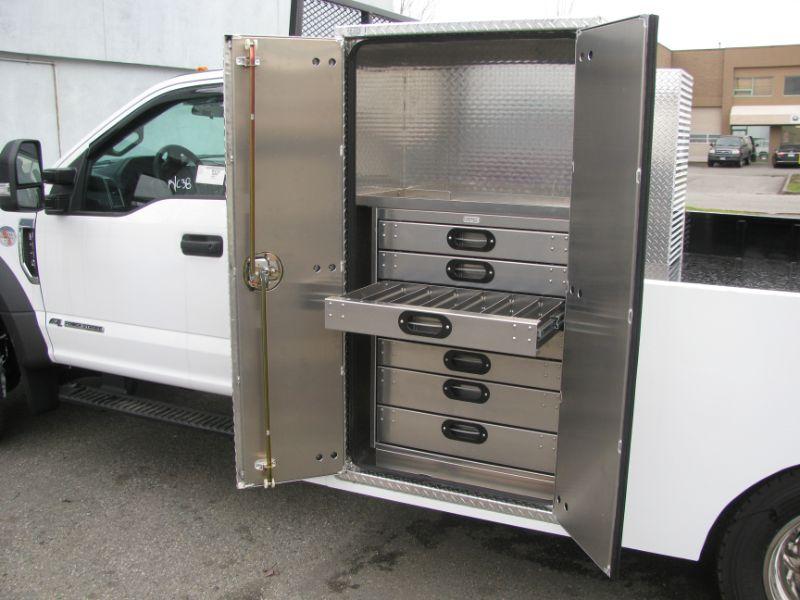 Custom fabrication, installing drawers, Hi-Lite Truck Accessories, Surrey BC