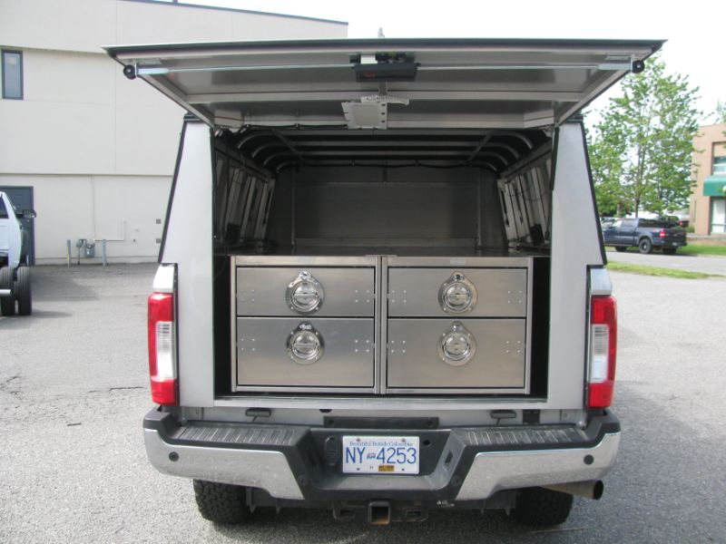 custom fabrication, toolbox added to truck, Hi-Lite Truck Accessories, Surrey BC